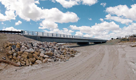 Gallegos Wash Military Bridge